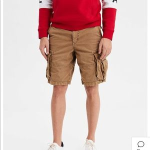 American eagle men's classic length cargo shorts